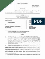 John Marshall Decision 9 26 2014