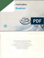 Volkswagen Santana e Quantum - Manual de Instruções