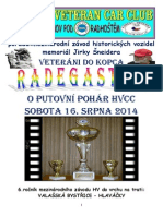 Propozice Radegast 33 2014