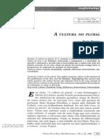 Artigo_A Cultura No Plural