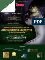 """4° Edizione Festival """"Arte Medicina Creatività"""" a Vidracco"""