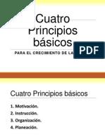 4 Principios Para El Crecimiento de La Iglesia