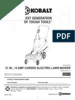 Kobalt_Lawn Mower Guide