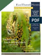 Audubon Fall 2014 Eco Travel Newsletter