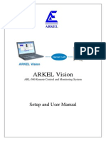ARKEL Vision Setup and User Manual V14