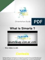 sim-arts orientation guide
