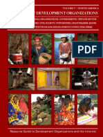 Directory of Development Organizations. Vol. 5 - North America