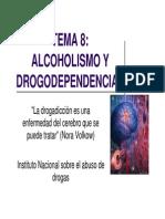 Tema 8 Alcoholismo y Drogodependencias