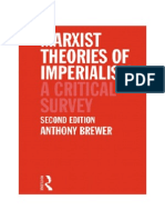 BREWER a Marxist Theories of Imperialism 1990