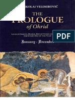 Sinaksary - Prolog From Ohrid by Bishop Nikolai Velimirovich