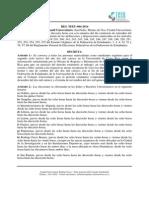 RES TEEU 004 2014 Convocatoria a Elecciones