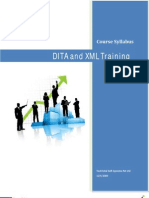 XML DITA Authoring Training - TechTotal