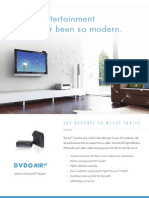 DVDO Air3C 60GHz Wireless HDMI Product Flyer