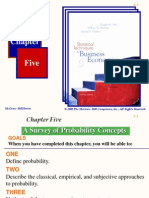 Chapter 05 A Survey of Probability Concepts