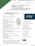 Santa Biblia Valera 1602 Purificada_ e. Francisco de Enzinas