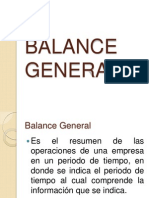 BALANCE GENERAL(Contabilidad, administracion).ppt