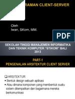 Pemrograman Client Server