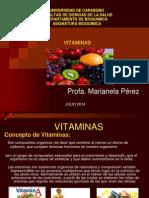 Clase de Bioquimica Vitaminas