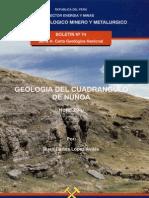 Geología - Cuadrangulo de Nuñoa %2829u%29%2C1996