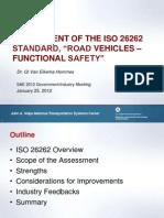 3 ISO26262 Assessment