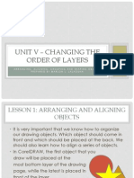 Unit V – Changing the Order of Layers
