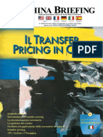 Il Transfer Pricing in Cina