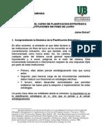 Apuntes Planificacion Estrategica J Duhart
