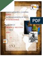 Descolonizacion Africa -1