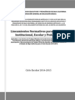 Lineamientos Normativos Isep Rubrica Final