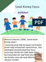 Kanak-kanak Kurang Upaya