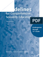Sex-Ed guidelines