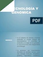 12 Biotecnología y Genomica