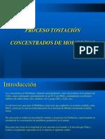 Proceso Tostación Molibdeno (Altonorte)