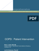 COPD Patient Intervention Module