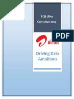 Airtel Driving Data Ambitions 15.09.2014