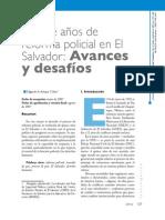 15 Años de Reforma Policial en SV - Rev Urvio Nº 2 2007