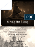 Sorting Hat's Song