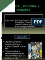 Grupo 3 Endemia, Epidemia y Pandemia