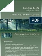 EVERGREEN Hospital Center Strategic Plan Presentation