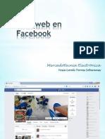 Sitio Web en Facebook