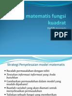 Kalkulus_4_model Matematis Fungsi Kuadrat