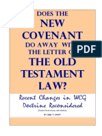 Does The NEW COVENANT Abolished the OLD TESTAMENT LAW?
