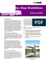 VicRoads Bus Stop Guidelines
