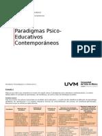 Paradigmas Psicopedagogicos-matriz Resumen