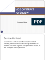 Oracle Service Contract