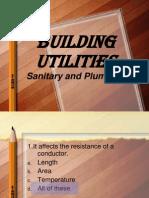 Building Utilities Exam Final Slide