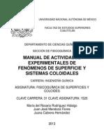Manual de Fisicoquimica de Superficies y Coloides
