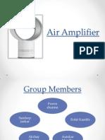 Air Amplifier design