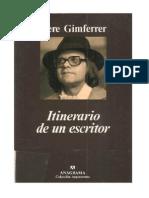 Itinerario De Un Escritor - Gimferrer, Pere.pdf