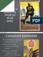 ss11 - canada enters - response